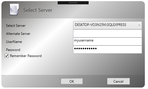Select Server that sql server runs on